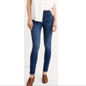 Madewell Road Tripper high rise Jeans
